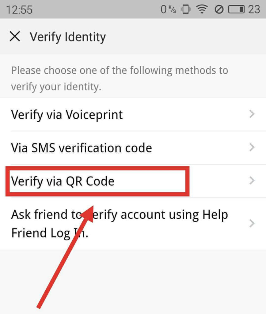 4 ways to verify WeChat on new device | China Help