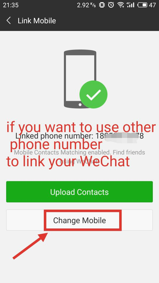 How to link your phone number to WeChat account? | China Help